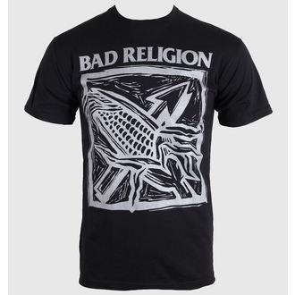t-shirt metal men's Bad Religion - Against The Grain - KINGS ROAD, KINGS ROAD, Bad Religion