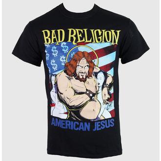 t-shirt metal men's Bad Religion - American Jesus - KINGS ROAD, KINGS ROAD, Bad Religion
