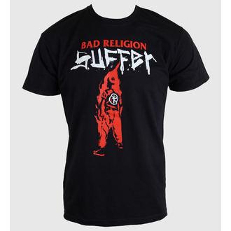 t-shirt metal men's Bad Religion - Black Suffer - KINGS ROAD, KINGS ROAD, Bad Religion