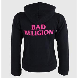 hoodie women's Bad Religion - Hot Pink - KINGS ROAD, KINGS ROAD, Bad Religion