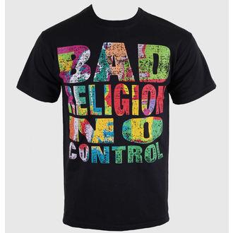t-shirt metal men's Bad Religion - No Control - KINGS ROAD, KINGS ROAD, Bad Religion