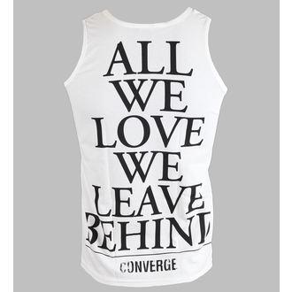 top men Converge - All We Love - White - KINGS ROAD, KINGS ROAD, Converge