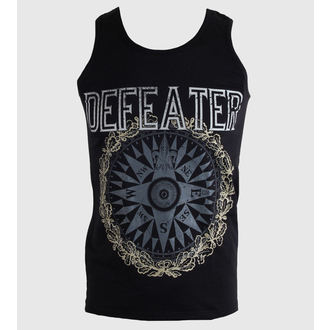 top men Defeater - Compass - Black - KINGS ROAD, KINGS ROAD, Defeater
