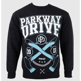 sweatshirt (no hood) men's Parkway Drive - Axe - KINGS ROAD, KINGS ROAD, Parkway Drive