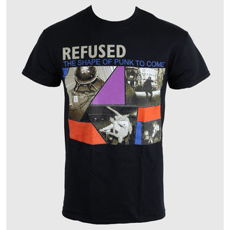 Metal T-Shirt men's unisex Refused - The Shape Of Punk - KINGS ROAD - 20000316