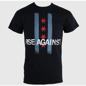 t-shirt metal men's unisex Rise Against - Flag - KINGS ROAD, KINGS ROAD, Rise Against