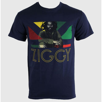 t-shirt metal men's unisex Ziggy Marley - Blue Navy - KINGS ROAD, KINGS ROAD, Ziggy Marley