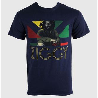 t-shirt metal men's unisex Ziggy Marley - Blue Navy - KINGS ROAD - 51527