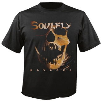t-shirt metal men's unisex Soulfly - Savages - NUCLEAR BLAST, NUCLEAR BLAST, Soulfly