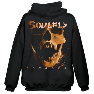 hoodie men's Soulfly - Savages - NUCLEAR BLAST, NUCLEAR BLAST, Soulfly