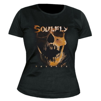 t-shirt metal women's unisex Soulfly - Savages - NUCLEAR BLAST, NUCLEAR BLAST, Soulfly
