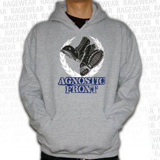 hoodie men's Agnostic Front - Against The World - RAGEWEAR, RAGEWEAR, Agnostic Front