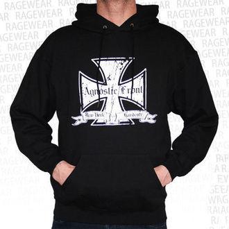 hoodie men's Agnostic Front - Iron Cross - RAGEWEAR, RAGEWEAR, Agnostic Front