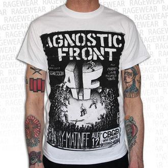 t-shirt metal men's unisex Agnostic Front - Old School - RAGEWEAR, RAGEWEAR, Agnostic Front