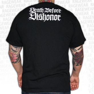 t-shirt metal men's unisex Death Before Dishonor - Black Bats - RAGEWEAR, RAGEWEAR, Death Before Dishonor