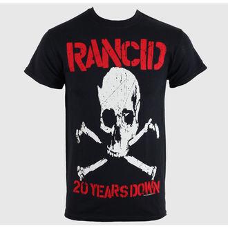 t-shirt metal men's unisex Rancid - 20 Years Down - RAGEWEAR, RAGEWEAR, Rancid