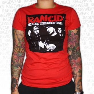 t-shirt metal women's unisex Rancid - Dominoes - RAGEWEAR, RAGEWEAR, Rancid