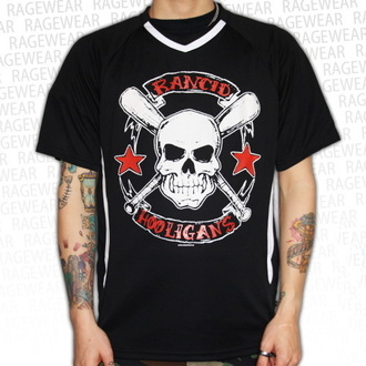 t-shirt metal men's unisex Rancid - Hooligans Big Skull - RAGEWEAR - 164SJB03