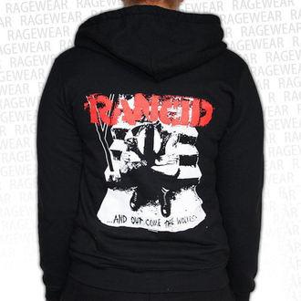 hoodie women's Rancid - Wolves - RAGEWEAR, RAGEWEAR, Rancid