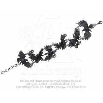 bracelet Flocking Ravens - ALCHEMY GOTHIC, ALCHEMY GOTHIC