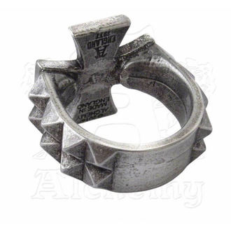 ring Cross Of Iron - ALCHEMY GOTHIC - R196