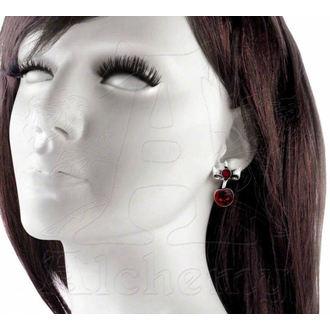 earrings Black Cherry - ALCHEMY GOTHIC - ULFE20