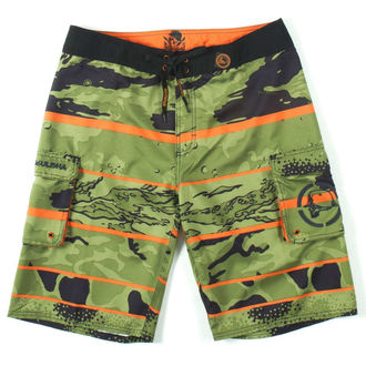 swimsuits men (shorts) METAL MULISHA - Unseen - BLK