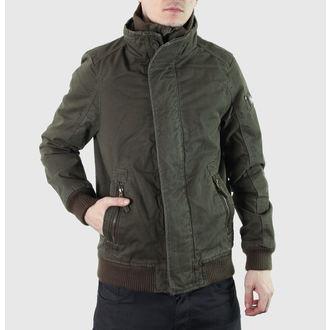 spring/fall jacket men's - Pike Road - BRANDIT - Oliv