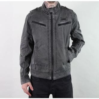 jacket men spring/autumn BRANDIT - Drake Vintage - Anthracite - 3135/5