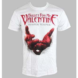 t-shirt metal men's unisex Bullet For my Valentine - Temper Temper Blood Hands - BRAVADO EU, BRAVADO EU, Bullet For my Valentine