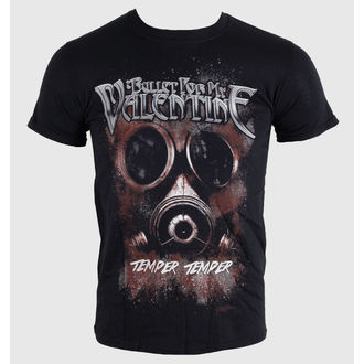 t-shirt metal men's unisex Bullet For my Valentine - Temper Temper Gas Mask - BRAVADO EU, BRAVADO EU, Bullet For my Valentine