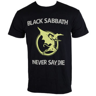 t-shirt metal men's unisex Black Sabbath - Never Say Die - BRAVADO EU, BRAVADO EU, Black Sabbath