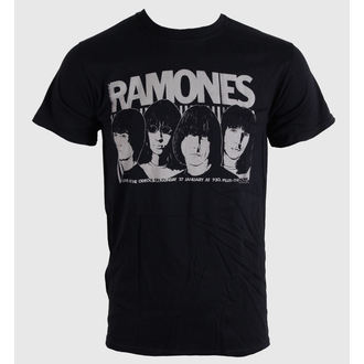 t-shirt metal men's unisex Ramones - Odeon Poster - BRAVADO EU, BRAVADO EU, Ramones