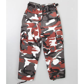 pants children's MIL-TEC - US Hose - Red Camo, MIL-TEC
