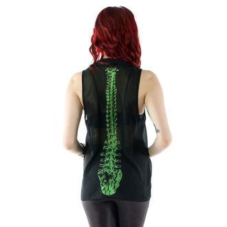 shirt women's IRON FIST - Spineless Peter Pan Collar - Black - IFLTNK12947S14