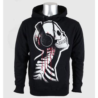hoodie men's - Tone Death - Akumu Ink - 5HM09