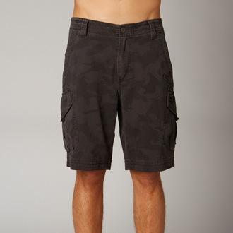 shorts men FOX - Slambozo Cargo - GREY CAMO