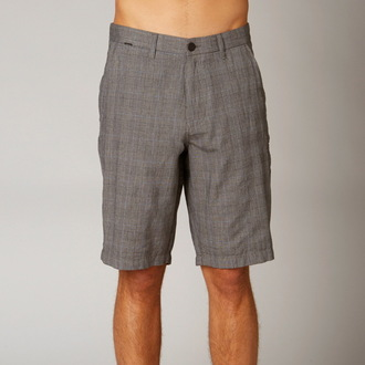 shorts men FOX - Essex Tailor - LIGHT GREY