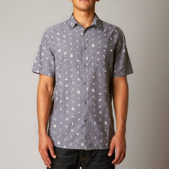 shirt men FOX - Dangerous Goods, FOX