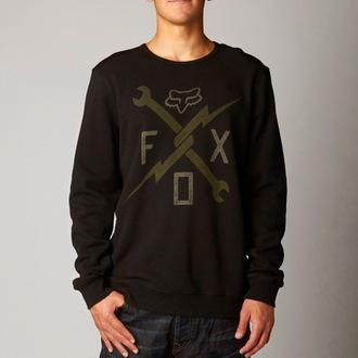 sweatshirt (no hood) men's - Phenom Crew - FOX, FOX