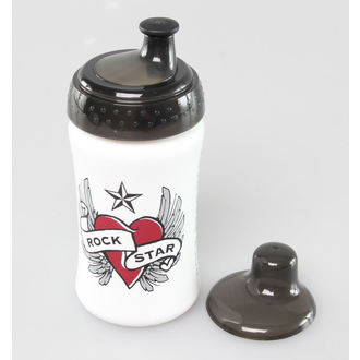 bottle ROCK STAR BABY - Heart - 90801