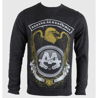 sweatshirt (no hood) men's Asking Alexandria - Eagle - PLASTIC HEAD, PLASTIC HEAD, Asking Alexandria