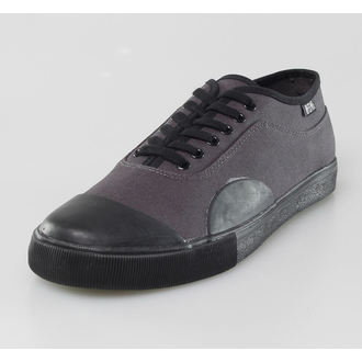 low sneakers men's - York Charcoal Overdye - IRON FIST, IRON FIST