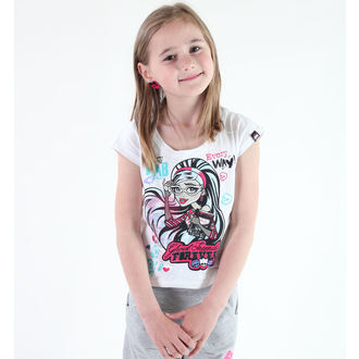 film t-shirt men's children's Monster High - Monster High - TV MANIA - MOH 571