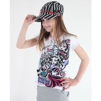 film t-shirt men's children's Monster High - Monster High - TV MANIA - MOH 556