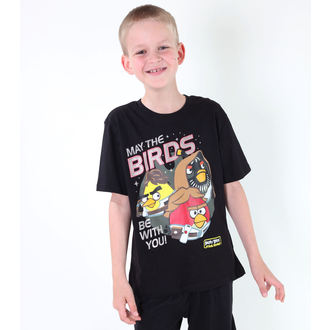 film t-shirt men's children's Angry Birds - Angry Birds / Star Wars - TV MANIA - SWAB 323