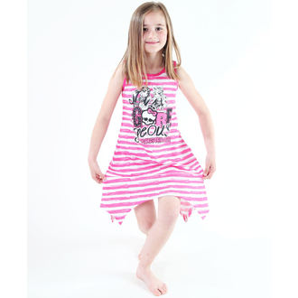dress girlish TV MANIA - Monster High - White / Pink, TV MANIA