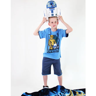 film t-shirt men's children's Star Wars - Star Wars Clone - TV MANIA - Blue, TV MANIA