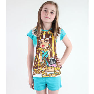pajama girlish TV MANIA - Monster High - White / Turquise, TV MANIA