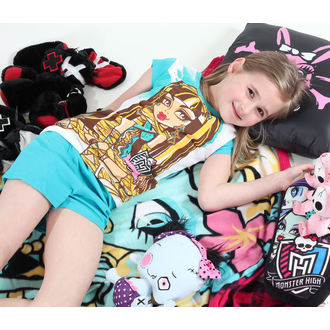 pajama girlish TV MANIA - Monster High - White / Turquise - MOH 544